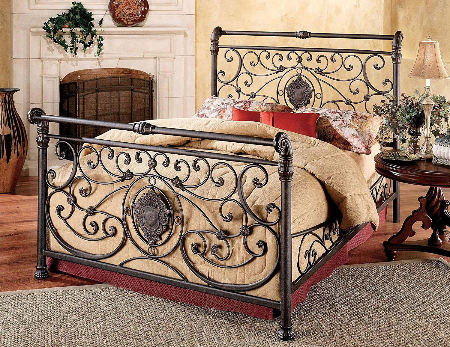 Hillsdale Furniture Mercer Bed Set with Rail