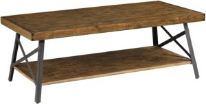 Emerald Home Chandler Rustic Industrial Wood Table