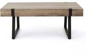 Christopher Knight Home Abitha Faux Wood Coffee Table