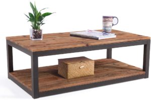 Care Royal Vintage Industrial Farmhouse Coffee Table