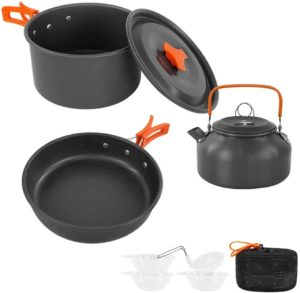 Sempiyi Lightweight Portable Camping Cookware Set