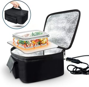 Zone Tech Electric Insulated Heating Food Lunch Box
